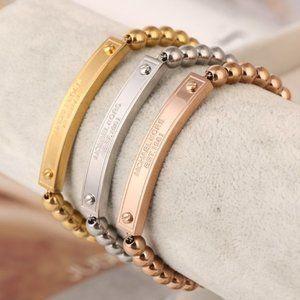 Michael Kors Beaded Leather Cord Bracelet